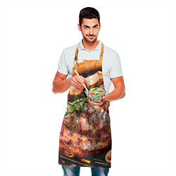 Фартук кулинарный Мясо 4 цвета 3D — фото 2