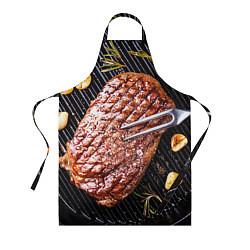 Фартук кулинарный Мясо 6 цвета 3D — фото 1