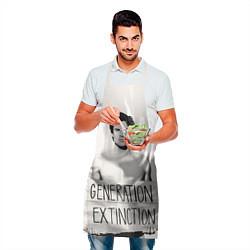 Фартук кулинарный Generation Extinction цвета 3D — фото 2