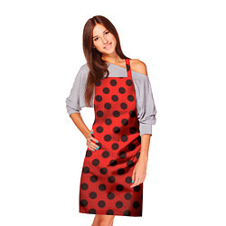 Фартук кулинарный Леди Баг: узор цвета 3D — фото 2