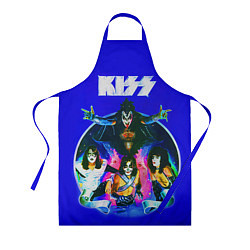 Фартук кулинарный Kiss Show цвета 3D — фото 1