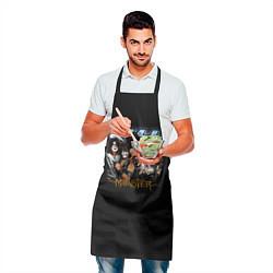 Фартук кулинарный Kiss Monster цвета 3D — фото 2