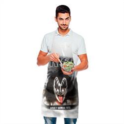 Фартук кулинарный KISS: Adult demon wig цвета 3D — фото 2
