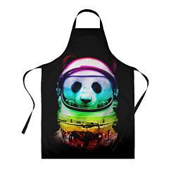 Фартук кулинарный Панда космонавт цвета 3D — фото 1