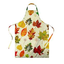 Фартук кулинарный Осень цвета 3D-принт — фото 1