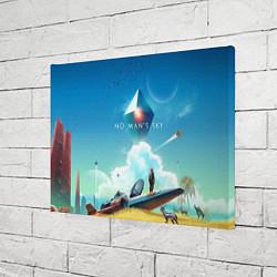 Холст прямоугольный No Man's Sky: Atlas Rises цвета 3D — фото 2