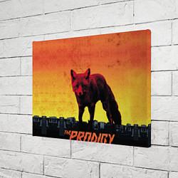 Холст прямоугольный The Prodigy: Red Fox цвета 3D-принт — фото 2
