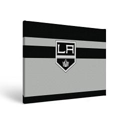 Холст прямоугольный Los Angeles Kings цвета 3D — фото 1