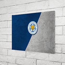 Холст прямоугольный Leicester City FC цвета 3D — фото 2