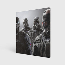 Холст квадратный Tom Clancy Rainbow Six цвета 3D — фото 1