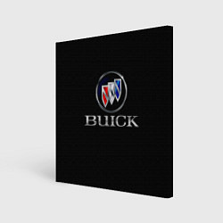 Холст квадратный Buick цвета 3D — фото 1