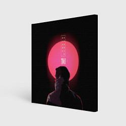 Холст квадратный Blade Runner: Acid sun цвета 3D — фото 1