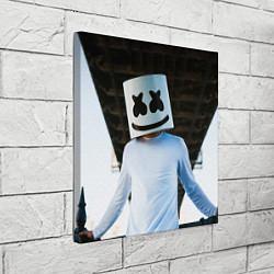 Холст квадратный Marshmallow Electronic цвета 3D — фото 2