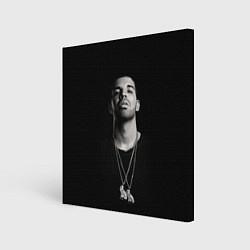 Холст квадратный Drake цвета 3D — фото 1