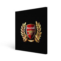 Холст квадратный Arsenal цвета 3D — фото 1