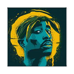 Холст квадратный 2Pac Shakur цвета 3D — фото 2