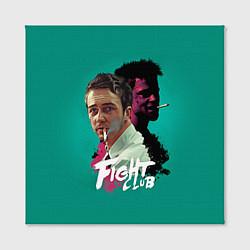 Холст квадратный Fight Club Stories цвета 3D-принт — фото 2