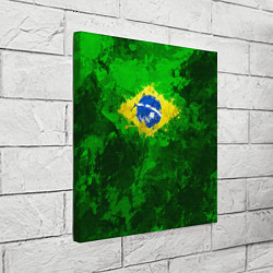 Холст квадратный Бразилия цвета 3D-принт — фото 2