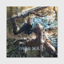Холст квадратный Dark Souls цвета 3D-принт — фото 2