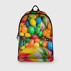 Рюкзак Сладкие конфетки цвета 3D — фото 2