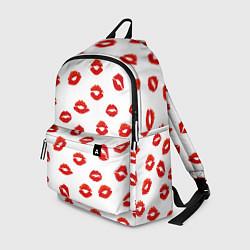 Рюкзак Поцелуйчики цвета 3D-принт — фото 1