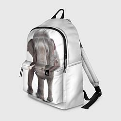 Рюкзак Большой слон цвета 3D — фото 1