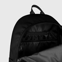 Рюкзак Gambit: Black collection цвета 3D-принт — фото 2