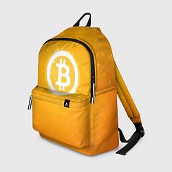 Рюкзак Bitcoin Orange цвета 3D-принт — фото 1