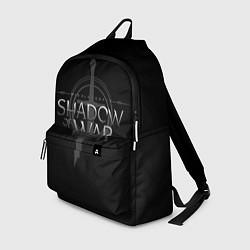Рюкзак Shadow of War цвета 3D-принт — фото 1