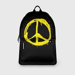Рюкзак Peace цвета 3D-принт — фото 2