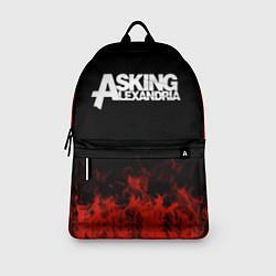 Рюкзак Asking Alexandria: Flame цвета 3D-принт — фото 2