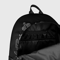 Рюкзак СВР: герб РФ цвета 3D-принт — фото 2