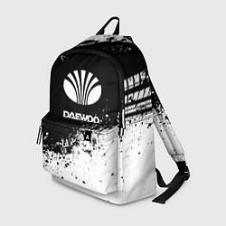 Рюкзак Daewoo: Black Spray цвета 3D-принт — фото 1