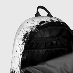 Рюкзак Opel: Black Spray цвета 3D — фото 2