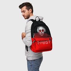 Рюкзак T-Fest: Red Style цвета 3D — фото 2