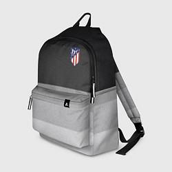 Рюкзак ФК Атлетико Мадрид: Серый стиль цвета 3D-принт — фото 1