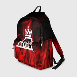 Рюкзак Fall Out Boy: Red Flame цвета 3D — фото 1