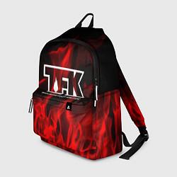 Рюкзак Thousand Foot Krutch: Red Flame цвета 3D-принт — фото 1