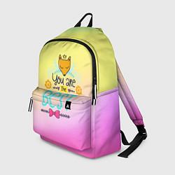 Рюкзак You are the best цвета 3D-принт — фото 1