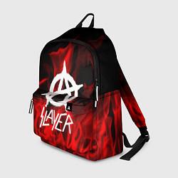 Рюкзак Slayer Flame цвета 3D-принт — фото 1