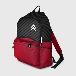 Рюкзак Citroen: Red Carbon цвета 3D-принт — фото 1