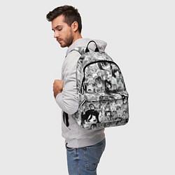 Рюкзак AHEGAO цвета 3D — фото 2
