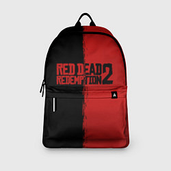 Рюкзак RDD 2: Black & Red цвета 3D-принт — фото 2