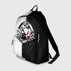 Рюкзак MONOKUMA SCHOOL цвета 3D-принт — фото 1