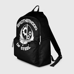 Рюкзак Brothood of Steel цвета 3D-принт — фото 1