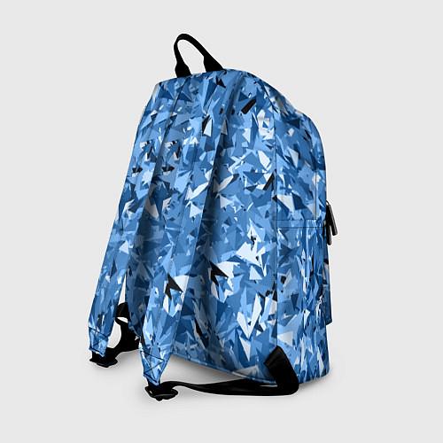 Рюкзак Сине-бело-голубой лев / 3D – фото 2