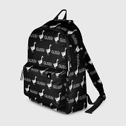 Рюкзак GUSSI: Black Pattern цвета 3D-принт — фото 1