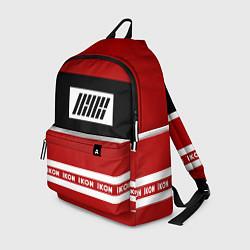 Рюкзак IKON Stripes цвета 3D-принт — фото 1