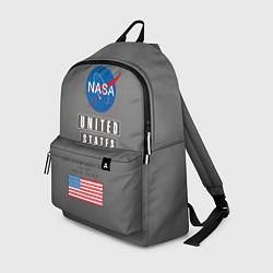 Рюкзак NASA: United States цвета 3D-принт — фото 1