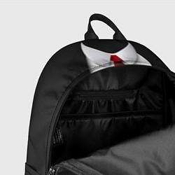 Рюкзак Агент 47 цвета 3D-принт — фото 2